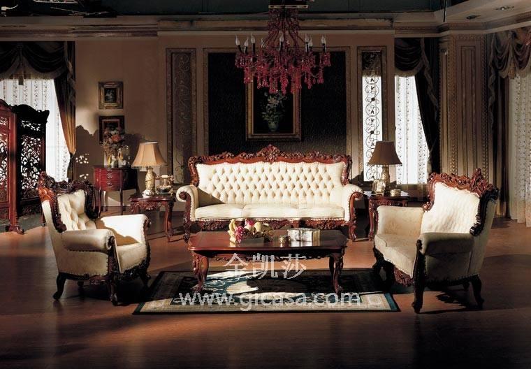 家具名牌-实木衣柜图片-欧式家具-金凯莎欧式家具