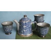日式唐草茶具一套