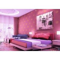 中国十大品牌油漆涂料-嘉柏丽粉红色壁纸漆