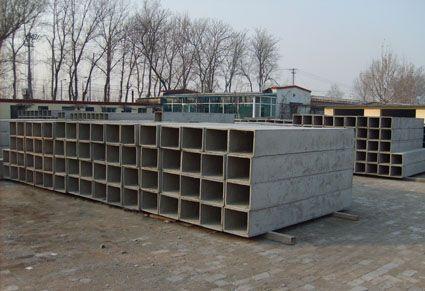 质低价批量供应住宅厨房 卫生间通风烟道 水泥预制产品