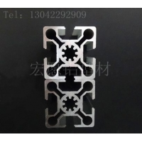 铝型材5050 50100国欧标用于设备框架 检测设备 电子