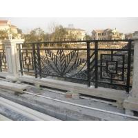 上海铁艺栏杆 佘山紫园 晶圆铁艺桥栏杆