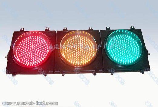 300mm红黄绿机动满屏三联交通信号灯