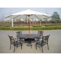 铸铝桌椅 铸铝公园桌椅 户外桌椅