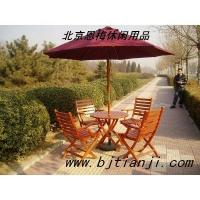 木制桌椅 公园桌椅 户外桌椅