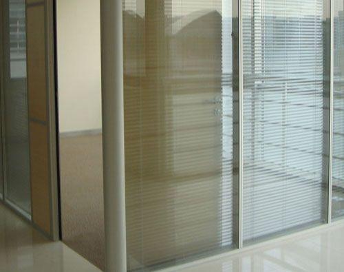 西安双层玻璃内置百叶隔断型材批发