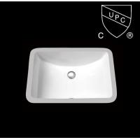 美国UPC认证陶瓷台盆/洗手盆SN017