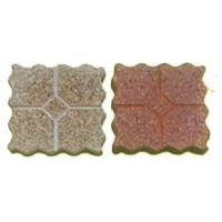 金象彩砖-波浪型带筋磨石砖