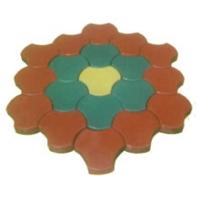 金象彩砖-杏叶型光亮砖