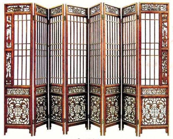 东阳木雕 屏风 中式装修
