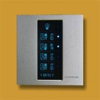 厂家供应西门子技术优质全液晶智能电灯触摸开关面板