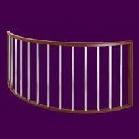 弧形护栏|陕西防盗网
