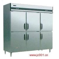 华宝厨房设备-微电脑六门冰柜