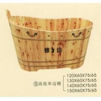 南京沐浴桶-高低单边桶