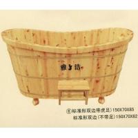 南京沐浴桶-标准形双边