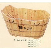 南京沐浴桶-单边波浪形