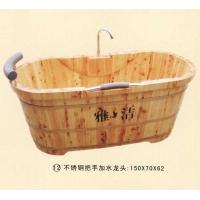 南京沐浴桶-不锈钢把手加水龙头形