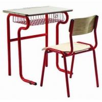 学校学生课桌椅-饰面做贴防火板处理