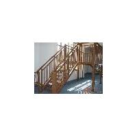 氟碳木紋樓梯
