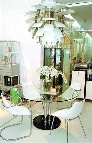 玻璃家具的搭配  玻璃家具适应力非常强,不挑剔\