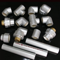 铝衬塑管件002-陕西西安兴纪龙地暖管件/道