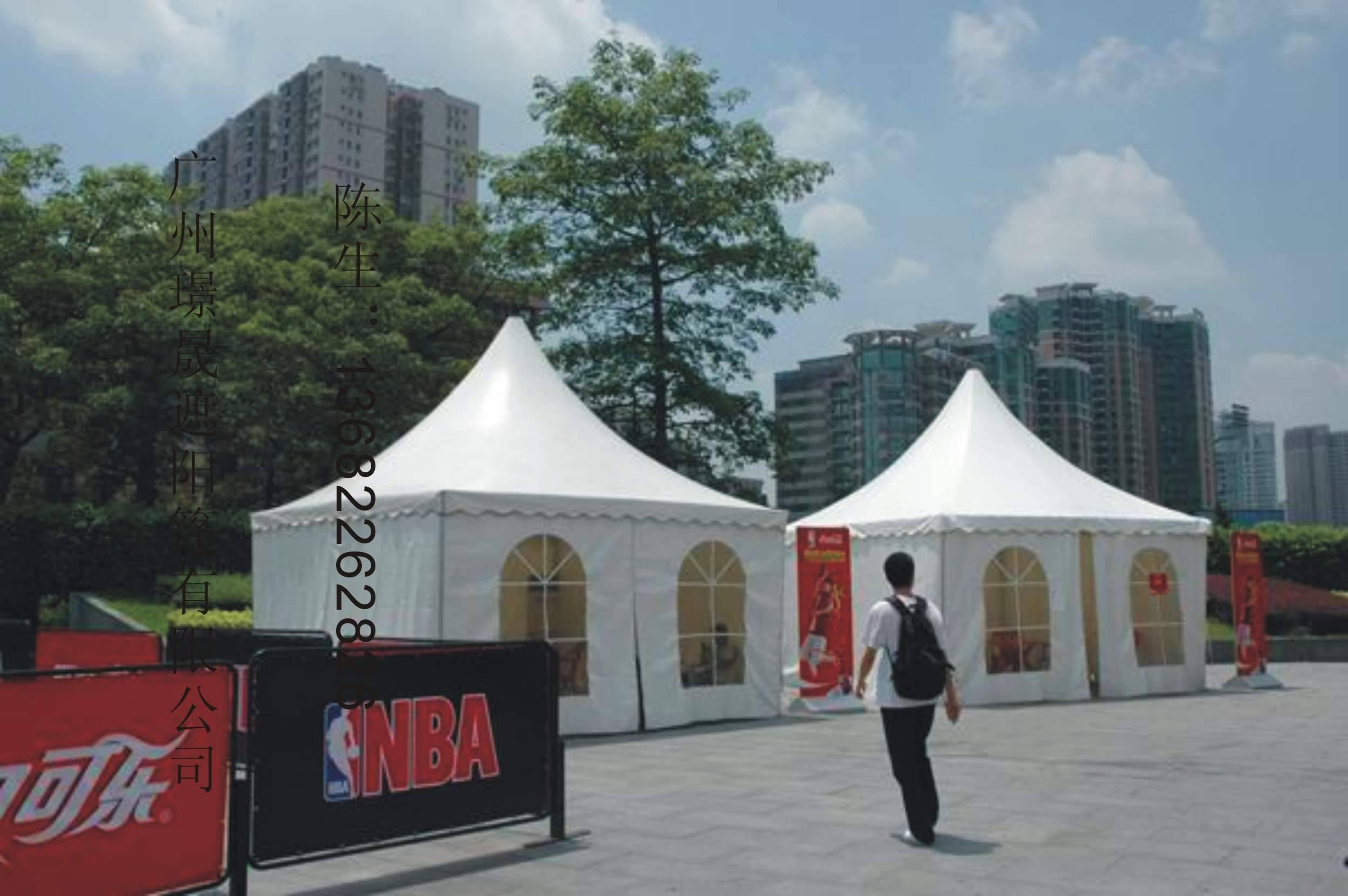 小型展览帐篷