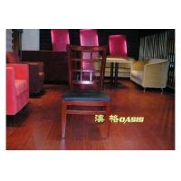 西餐厅咖啡厅实木椅子