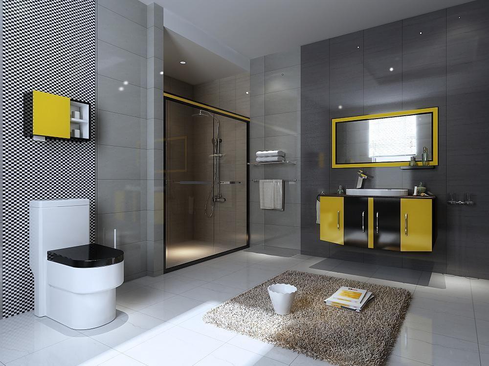 浴室柜品牌-现代简约浴室柜-大黄蜂