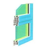 贵铝华光彩铝门窗 双色喷涂中空玻璃隔热铝型材