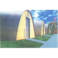 万中建材-拱形波纹钢屋盖