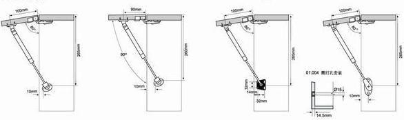 气压杆系列 - 澳兰仕厨具图片