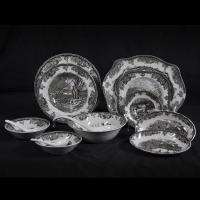 中国奢侈品牌【三少奶】高挡陶瓷礼品,陶瓷家居饰品,陶瓷餐具