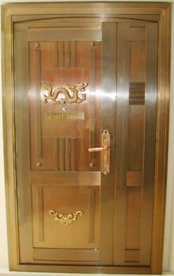 华盛门业-门窗-欧式铜门系列