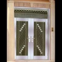 豪华不锈钢门