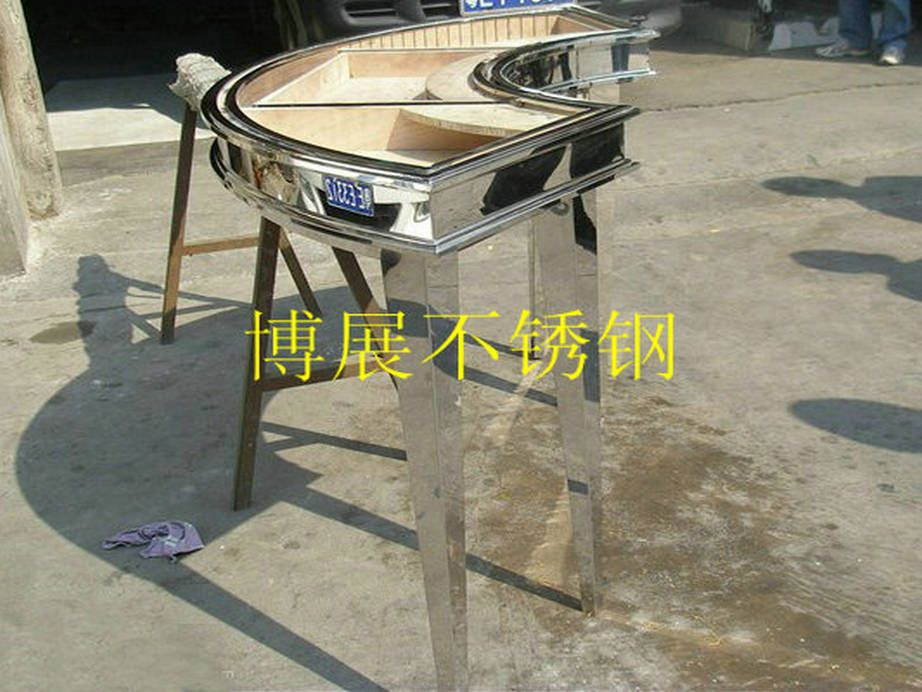 定制酒吧不锈钢吧台来图定制不锈钢展示台不锈钢服装