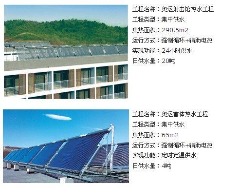 皇明太阳能-奥运工程