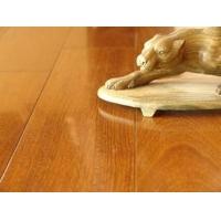 德品柚木九拼三层实木复合地板