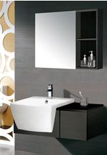 成都米高卫浴--米高PVC浴室柜