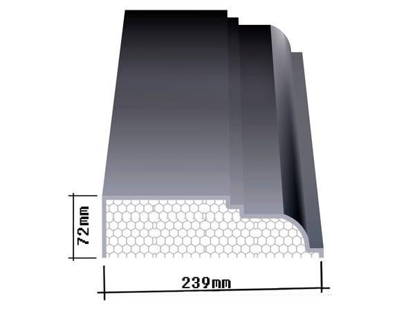欧仕(Oseer)EPS装饰线是一种新型的外墙装饰线及构件,它能完全替代传统的水泥(GRC)构件,更适用于安装在外墙EPS、XPS保温的墙体上,既能体现欧式、古典、高雅的装饰风格,又能保证主体建筑外墙不出现冷、热桥效应;还能为您的产品量身定做;特别对于高层建筑的欧式风格,安装水泥构件非常困难,工期又长,而且时间一长会出现裂缝,耐久性差,因此采用欧仕(Oseer)EPS装饰线、构件,安装方便、经济、耐久性长。 欧仕(Oseer)EPS装饰线、构件是由脱模B2级防火的聚笨乙烯为主体,粘贴耐碱玻纤网格布,加以
