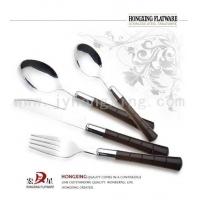 不锈钢餐具,塑柄餐具,塑柄西餐具,塑柄刀叉匙