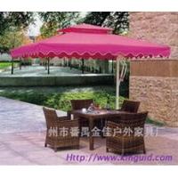 金佳庭院家具、户外家具,酒店编藤桌椅,户外太阳伞