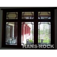 中式格栅木窗