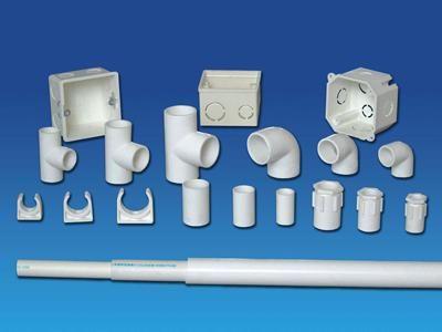 PVC穿线管件 PVC排水管件
