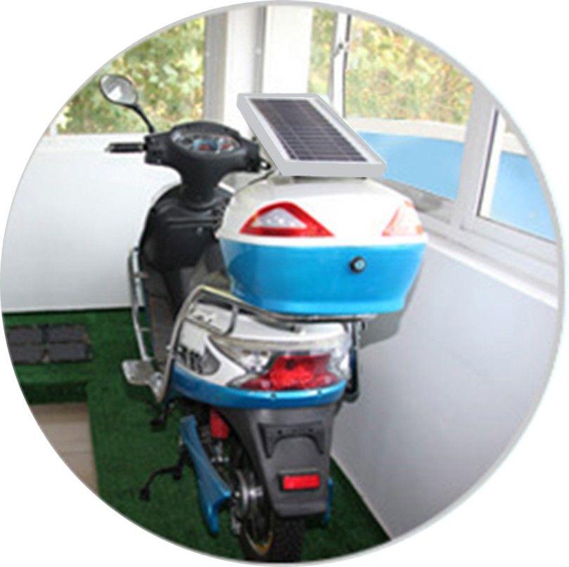 太阳能电动车充电器高清图片