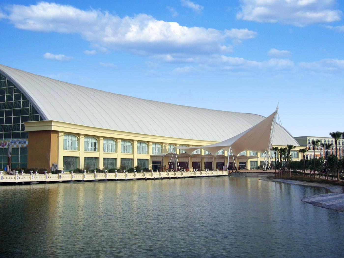 体育场馆建筑膜结构工程设计加工安装