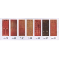 洲源装饰板  (免漆强化木门系列:红云石)