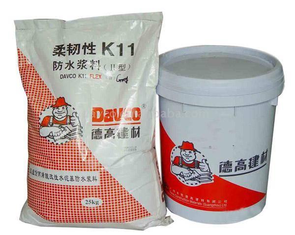 柔韧性 k11防水浆料 德高防水材料 中国建材第图片