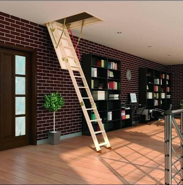 简易阁楼楼梯效果图