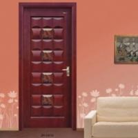 家豪套装门-实木复合烤漆面包门JH-0910