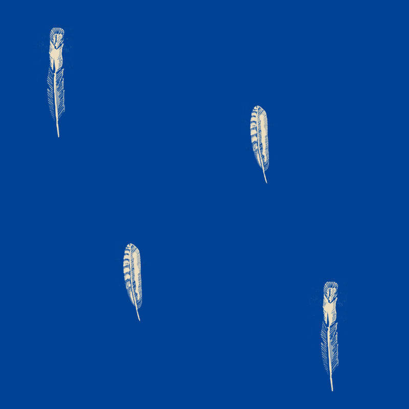 蓝色儿童壁纸贴图